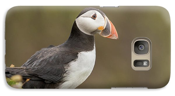 Puffin Galaxy S7 Case - Puffin by Ian Hufton
