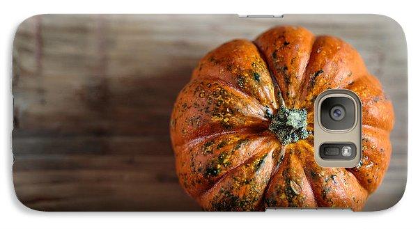 Pumpkin Galaxy S7 Case - Pumpkin by Nailia Schwarz