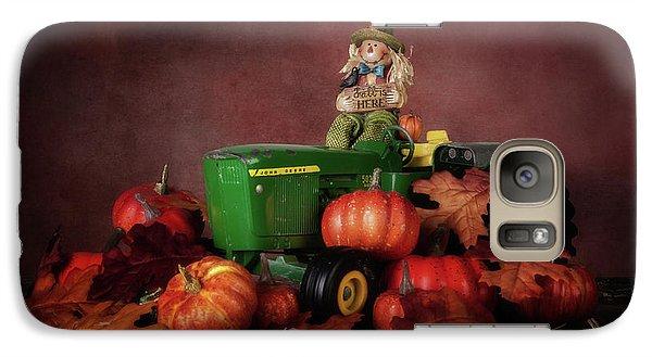 Pumpkin Galaxy S7 Case - Pumpkin Patch Whimsy by Tom Mc Nemar