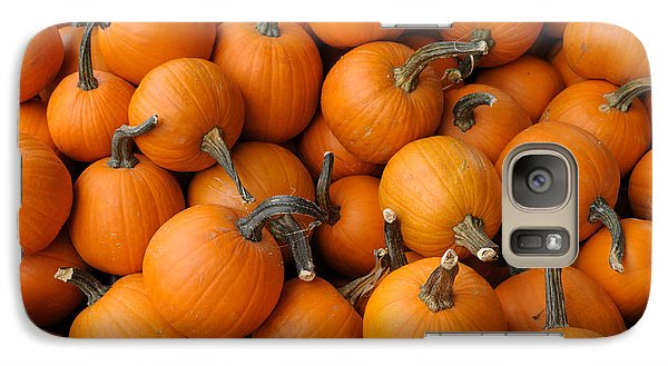 Galaxy Case featuring the photograph Pumpkins by Bradford Martin