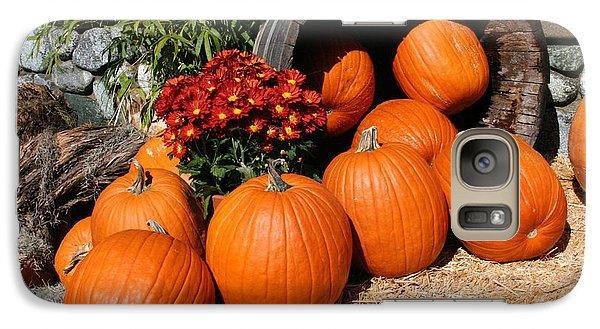 Pumpkin Galaxy S7 Case - Pumpkins- Photograph By Linda Woods by Linda Woods