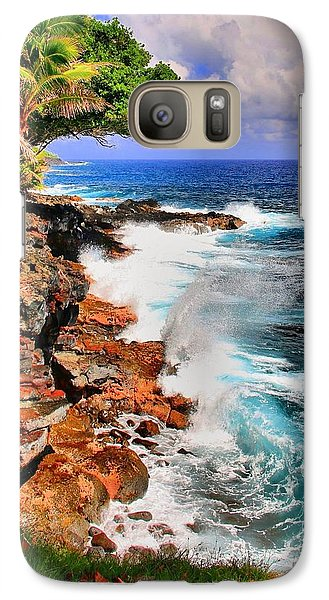 Galaxy Case featuring the photograph Puna Coast Hawaii by DJ Florek