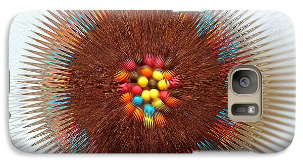 Galaxy Case featuring the photograph Pupil by Beto Machado