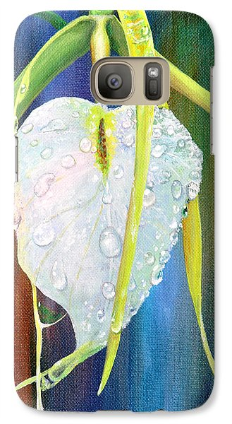 Galaxy Case featuring the painting Pure Love by AnnaJo Vahle