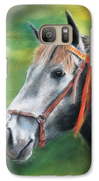 Galaxy Case featuring the painting Pure Spanish  by Ceci Watson