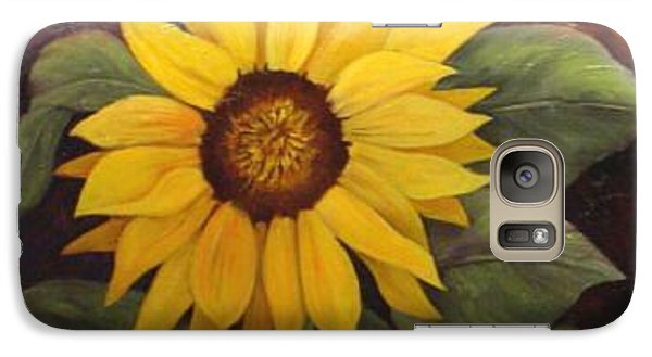 Galaxy Case featuring the painting Pure Sunshine  Sold by Susan Dehlinger