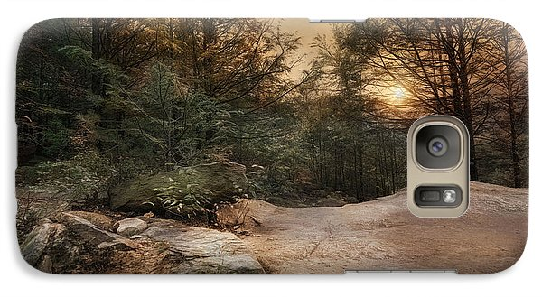 Galaxy Case featuring the photograph Purgatory Chasm by Robin-Lee Vieira