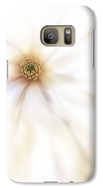 Galaxy Case featuring the photograph Purity by Ann Powell