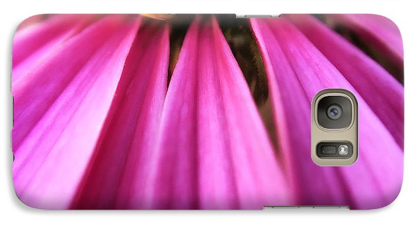 Galaxy Case featuring the photograph Purple Beauty by Eduard Moldoveanu