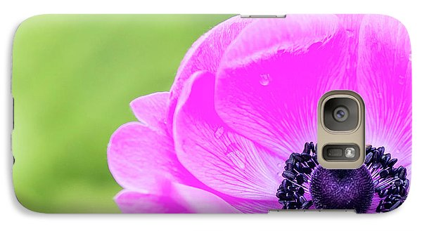 Galaxy Case featuring the photograph Purple Center by Rebecca Cozart