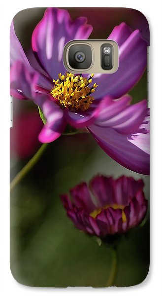Galaxy Case featuring the photograph Purple Coleus by Michael Flood