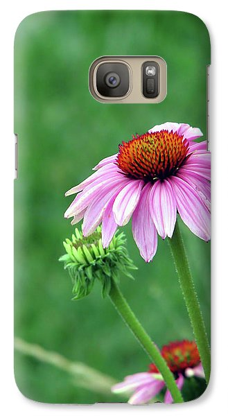 Galaxy Case featuring the photograph Purple Cone by Traci Cottingham