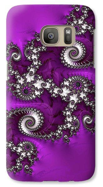 Purple Dragon Galaxy S7 Case