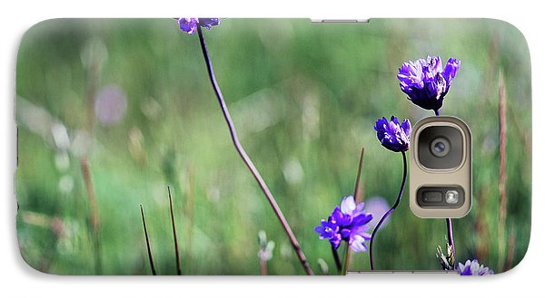 Galaxy Case featuring the photograph Purple Flowers by Jim and Emily Bush