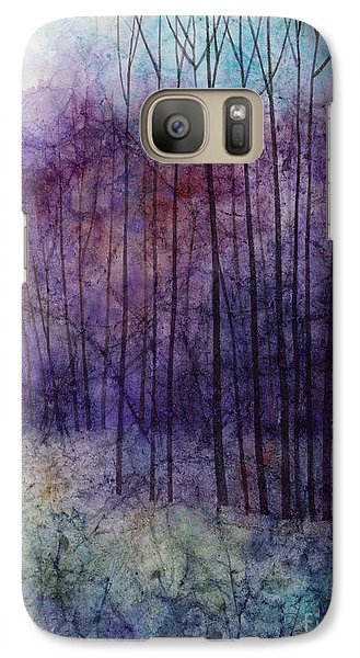 Galaxy Case featuring the painting Purple Haze by Hailey E Herrera