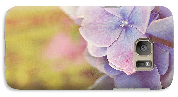 Galaxy Case featuring the photograph Purple Hydrangea by Lyn Randle