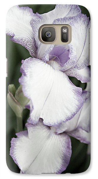 Galaxy Case featuring the photograph Purple Is Passion by Sherry Hallemeier