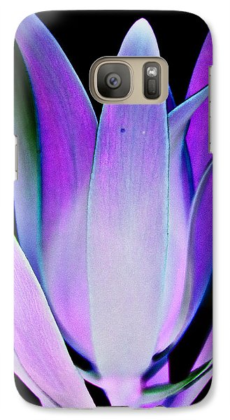 Galaxy Case featuring the photograph Purple by John Hansen