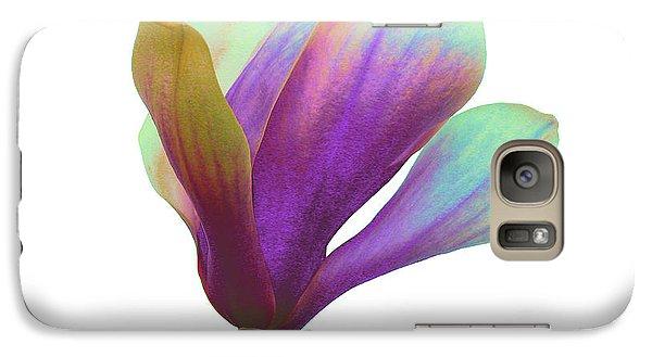 Purple Magnolia Galaxy S7 Case