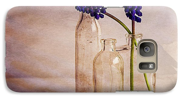 Galaxy Case featuring the photograph Purple by Mary Hone