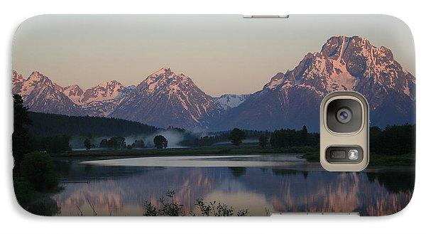 Galaxy Case featuring the photograph Purple Mountain Majesty  by Paula Guttilla