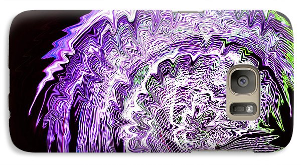 Purple Mushroom Galaxy S7 Case