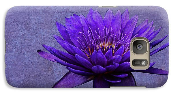 Galaxy Case featuring the photograph Purple Passion by Judy Vincent