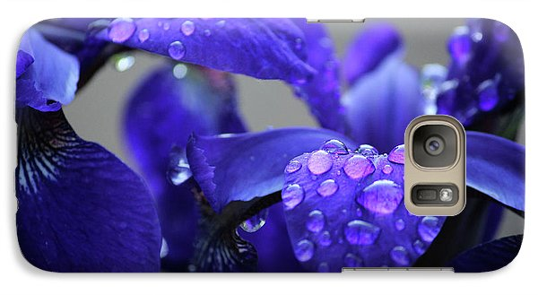Galaxy Case featuring the photograph Purple Passion by Rowana Ray