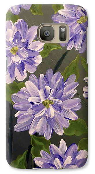 Purple Passion Galaxy S7 Case by Teresa Wing