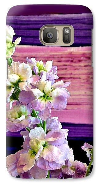 Galaxy Case featuring the photograph Purple Purple Everywhere by Marsha Heiken