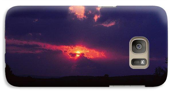 Purple Sunset Galaxy S7 Case