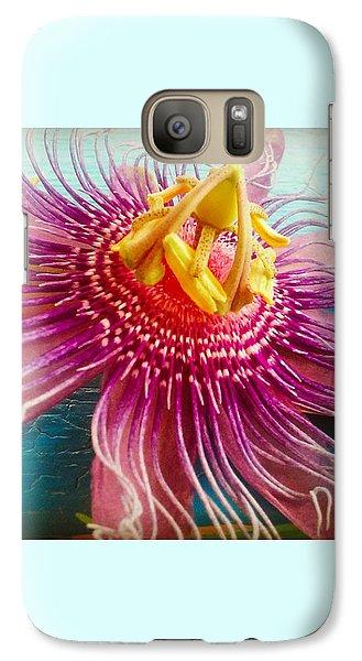 Purple Tropic Galaxy Case by Alicia Berent