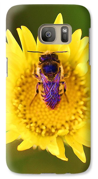 Galaxy Case featuring the photograph Purple Wings by John King
