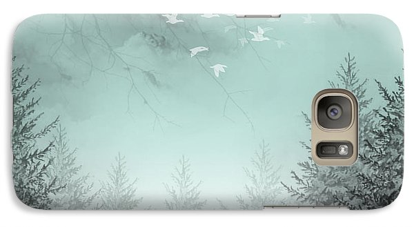 Galaxy Case featuring the painting Purpose Driven by Trilby Cole