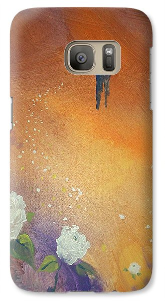 Galaxy Case featuring the painting Purpose by Raymond Doward