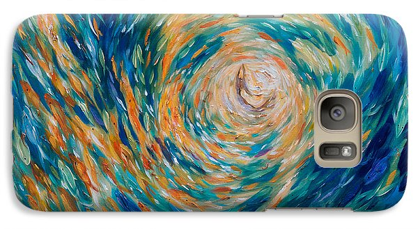 Galaxy Case featuring the painting Pursuing The Dream by Linda Olsen