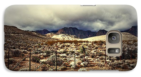 Galaxy Case featuring the photograph Push by Mark Ross