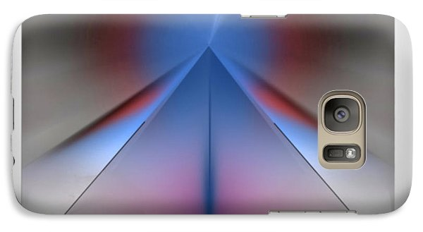 Galaxy Case featuring the digital art Pyramid by John Krakora