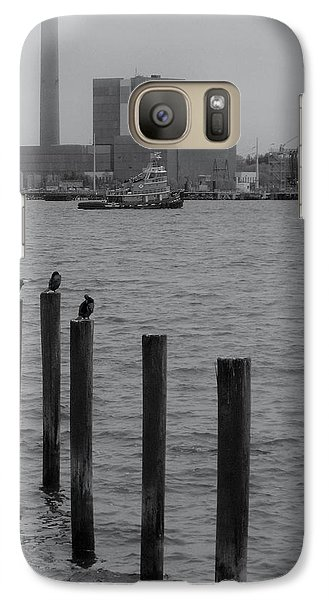 Galaxy Case featuring the photograph Q. River by John Scates