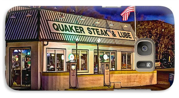 Galaxy Case featuring the photograph Quaker Steak And Lube by Skip Tribby