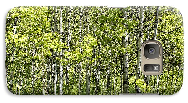 Galaxy Case featuring the photograph Quaking Aspens 2 by Cynthia Powell
