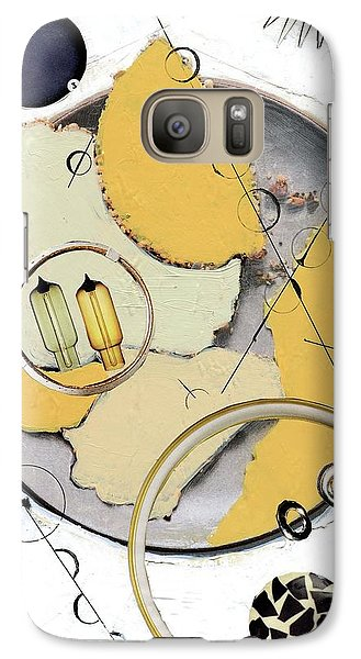 Galaxy Case featuring the painting Quantom Physics by Michal Mitak Mahgerefteh