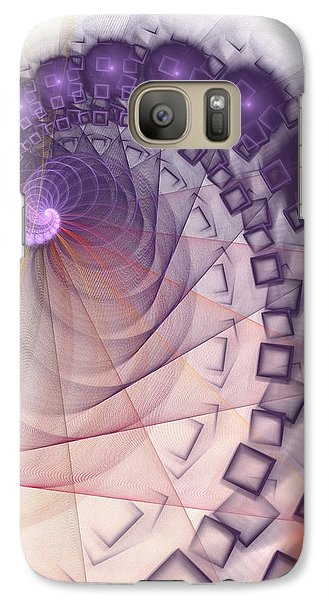 Galaxy Case featuring the digital art Quantum Gravity by Anastasiya Malakhova