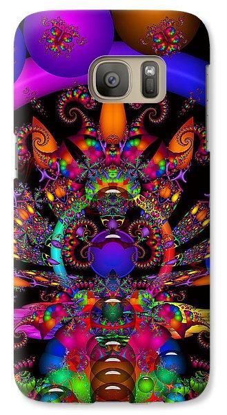 Galaxy Case featuring the digital art Quantum Physics by Robert Orinski