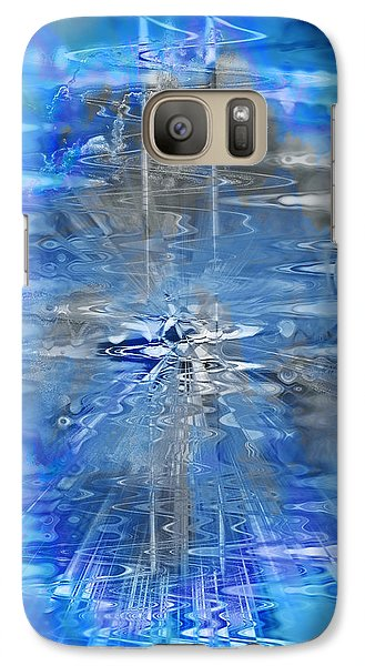 Galaxy Case featuring the photograph Quantum Reflections by Kellice Swaggerty