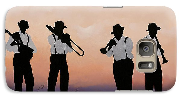 Trumpet Galaxy S7 Case - Quattro by Guido Borelli