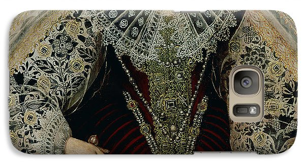 Queen Elizabeth I Galaxy S7 Case by John the Younger Bettes