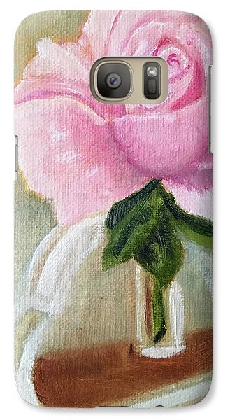 Galaxy Case featuring the painting Queen Elizabeth by Sharon Schultz