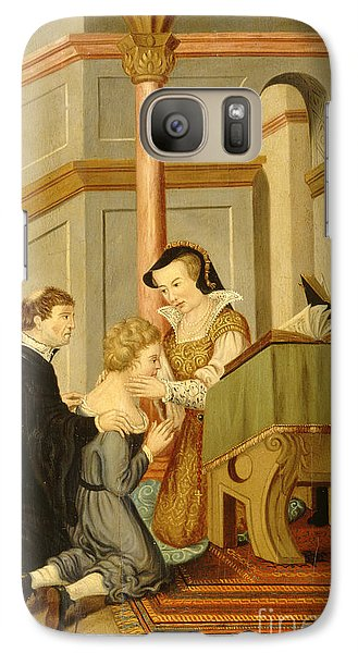 Queen Mary I Curing Subject With Royal Galaxy S7 Case