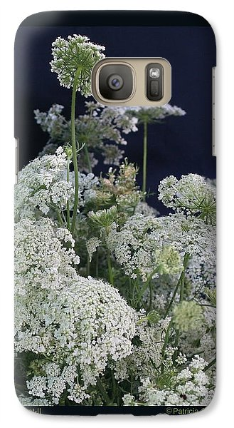 Galaxy Case featuring the photograph Queen's Bouquet-ii by Patricia Overmoyer
